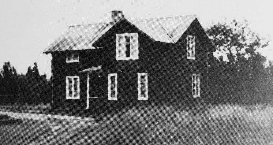 Vandrarhem Borgvattnet Ragunda Jämtland 1920