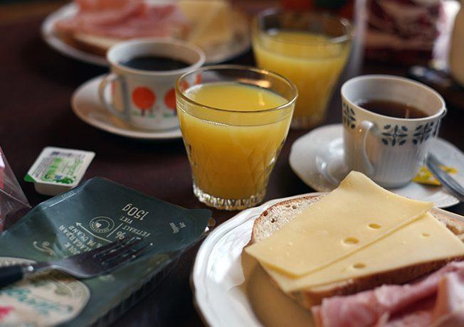 Frukost Borgvattnet
