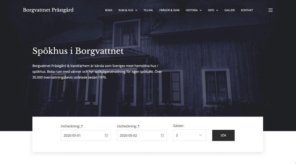 Ny Hemsida - Borgvattnet Prästgård
