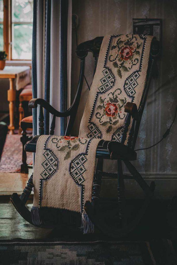 Sveriges mest hemsökta hus - Gungstol