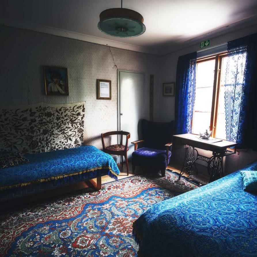 Blå Rummet Borgvattnet Prästgård
