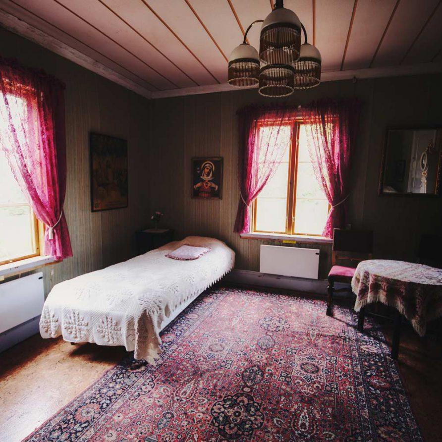 Rosa Rummet Borgvattnet Prästgård