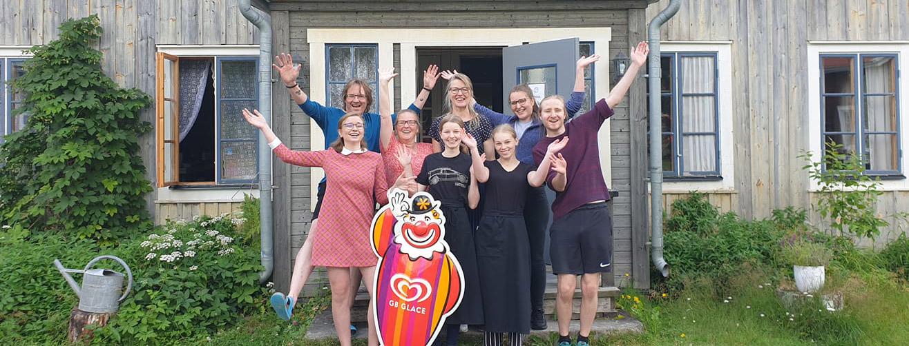 Sommarcafe 2021 Jämtland Borgvattnet