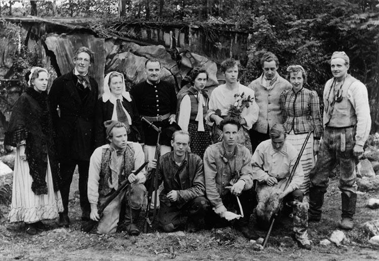 Vestvattentjuven – Bygdespel – Erik Lindgren och Halvar Björk Borgvattnet